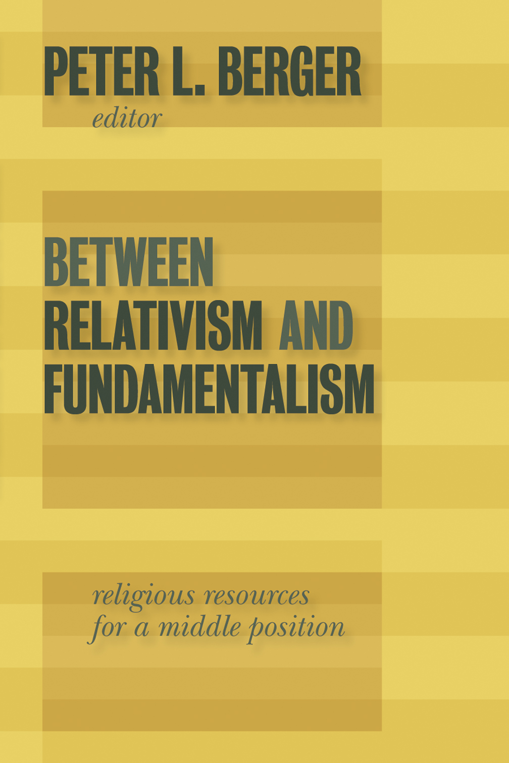 fundamentalism religion essay Fundamentalism:1 in protestantism, religious movement that arose among  conservative members of  181 and more essays on islamic fundamentalism.