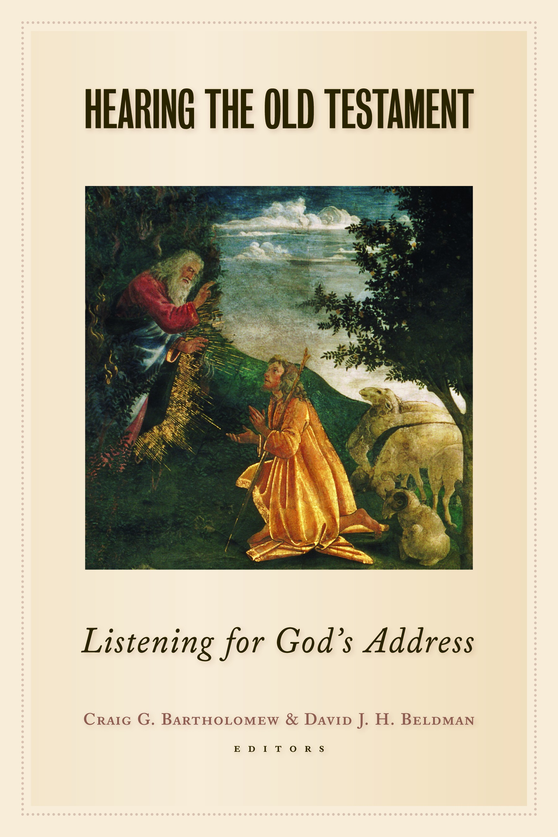 essays on old testament history and religion Essays on old testament history and religion by alt, albrecht and a great selection of similar used, new and collectible books available now at abebookscouk.