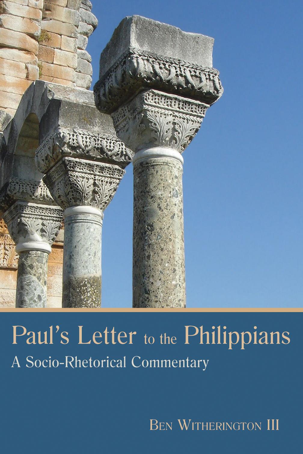 pauls letter to the philippians ben witherington iii eerdmans