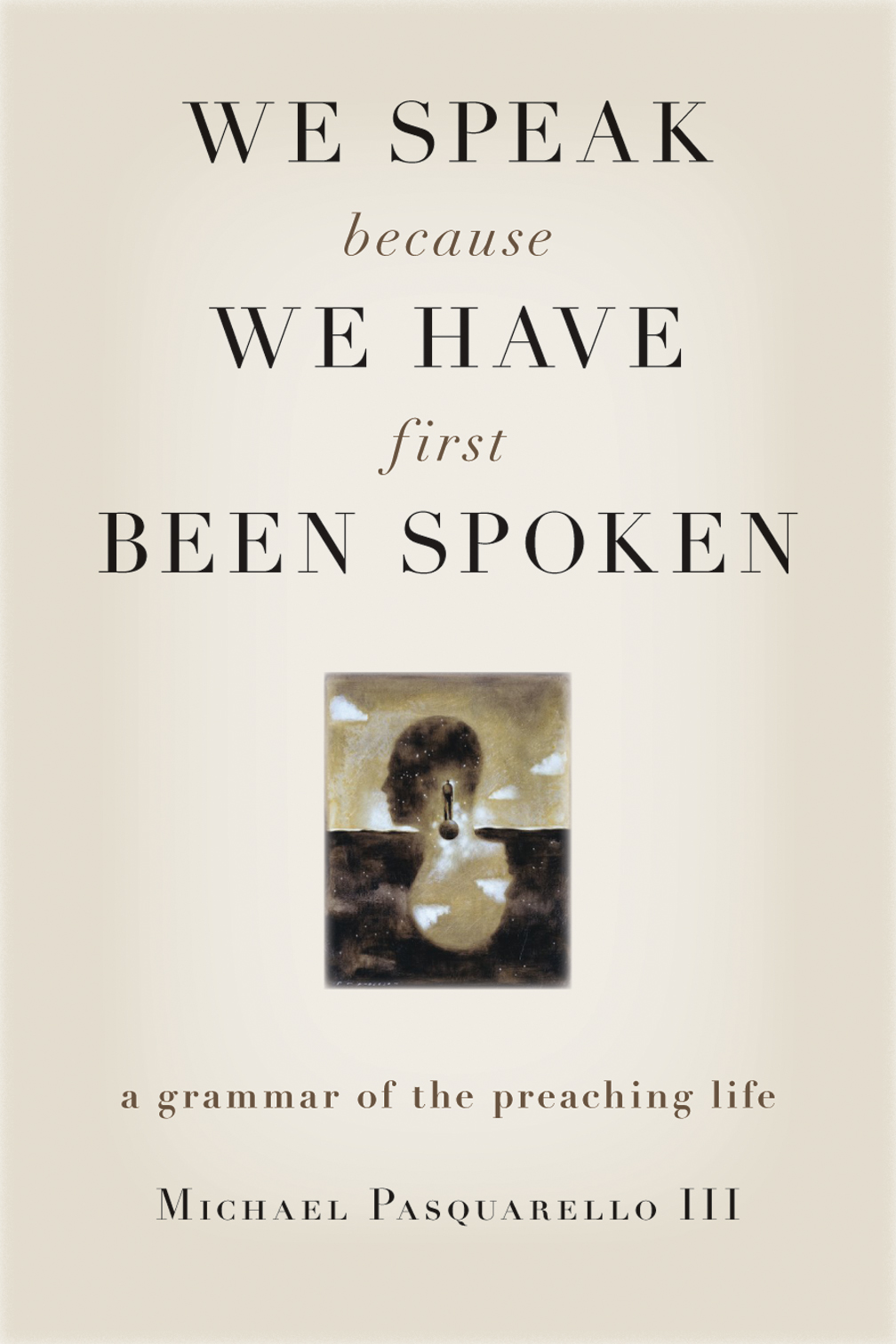 we speak because we have first been spoken pdf