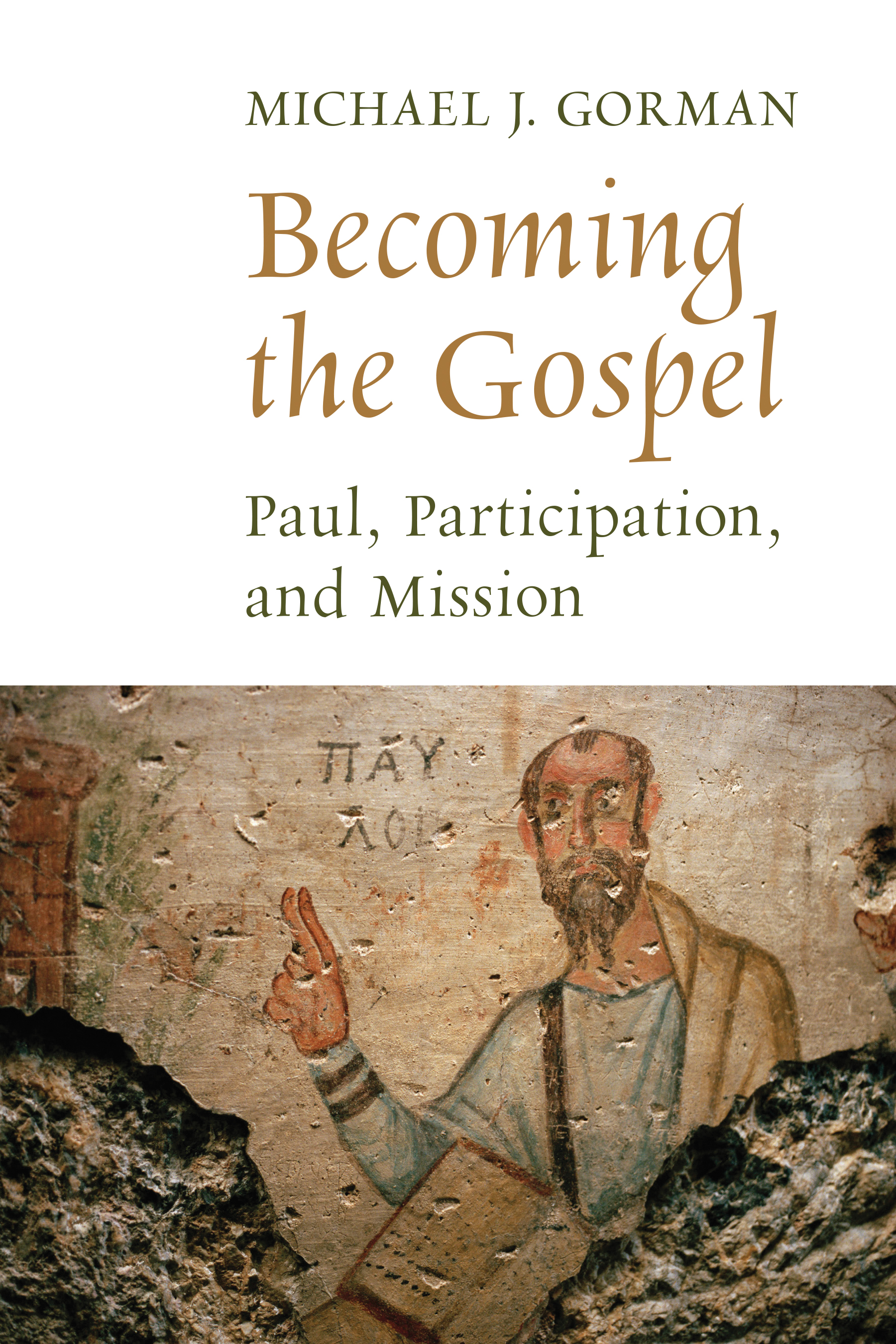 Cover-Becoming the Gospel