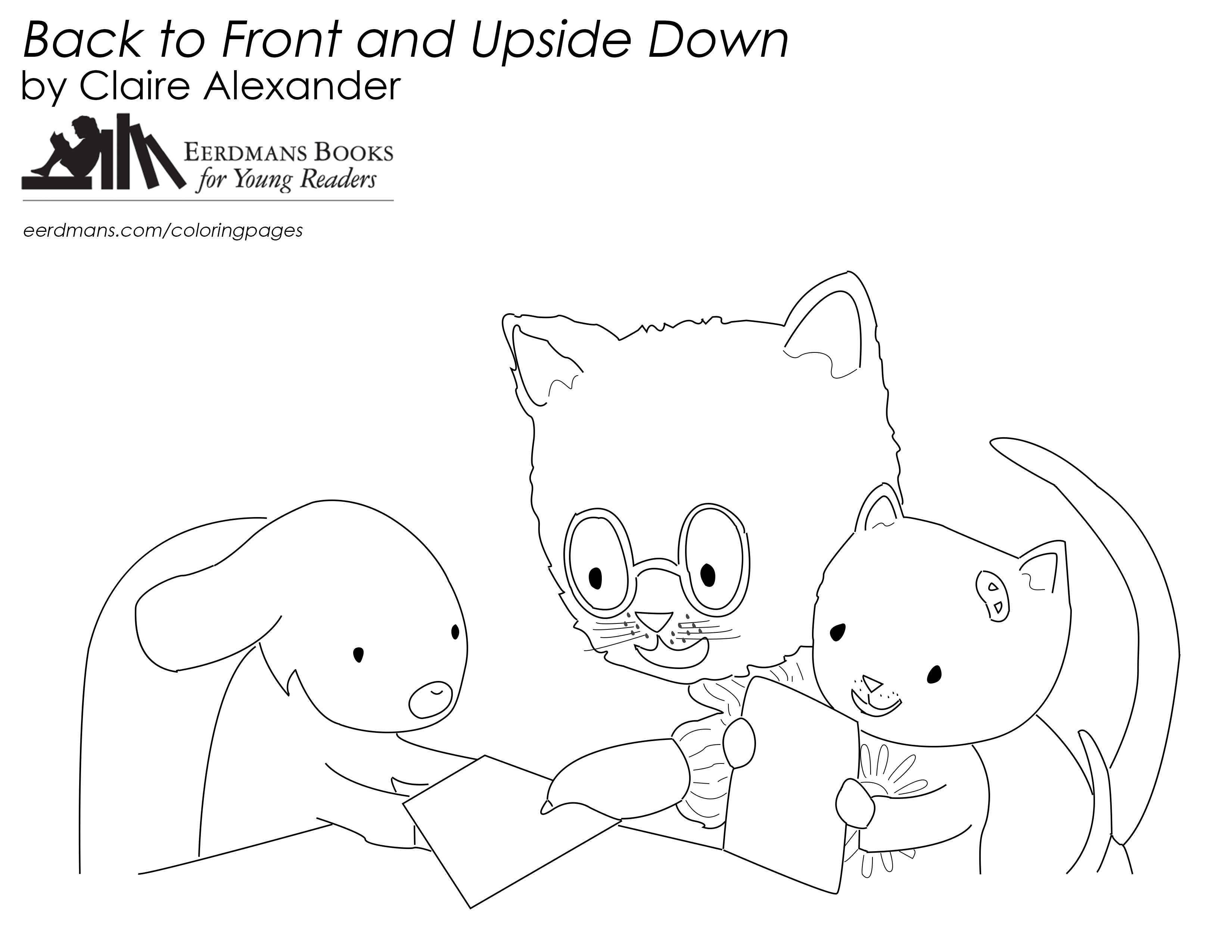 Back to Front coloring page